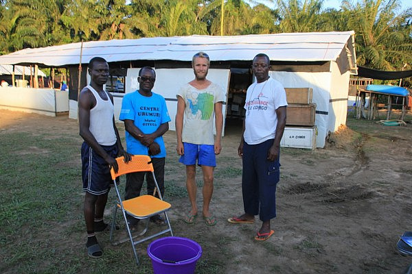 Ebola treatment center in Lokolia