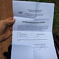 Authorization letter to avoid Ebola quarantine
