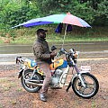 Motorbike umbrella
