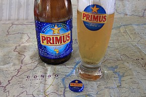 Primus beer - popular in the Congos
