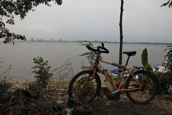 Kinshasa seen from Brazzaville