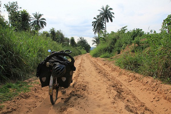Very sandy road
