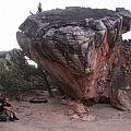 Famous boulder