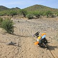 Sandy riverbeds