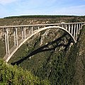The world's highest commercial bungy jump bridge