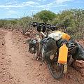 Cycling along the Kunene River