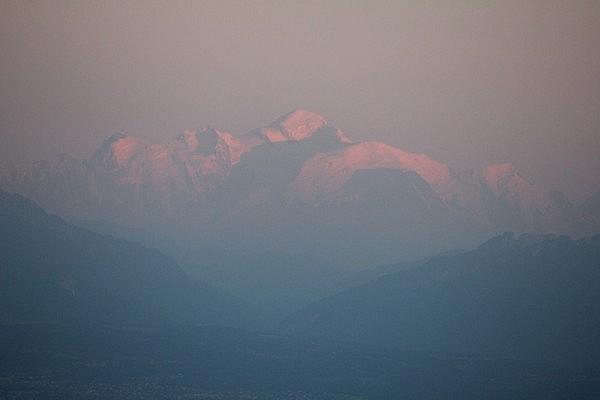 Mont Blanc (4,810 m)