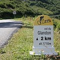 11% gradient at Col du Glandon