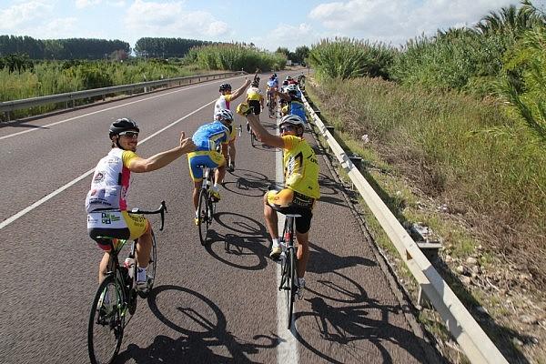 Cyclists from Penya Ciclista La Forca
