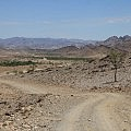 Namibian gravel road