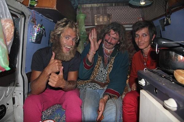 Hippie gathering