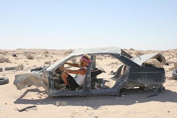 Driving a wreck