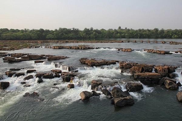 Waterfalls in the Corubal River