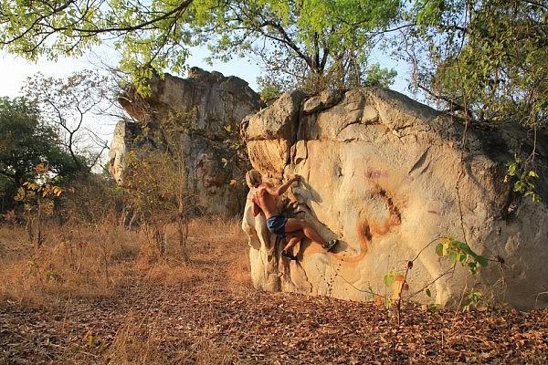 Bouldering in Canjadude, Guinea-Bissau