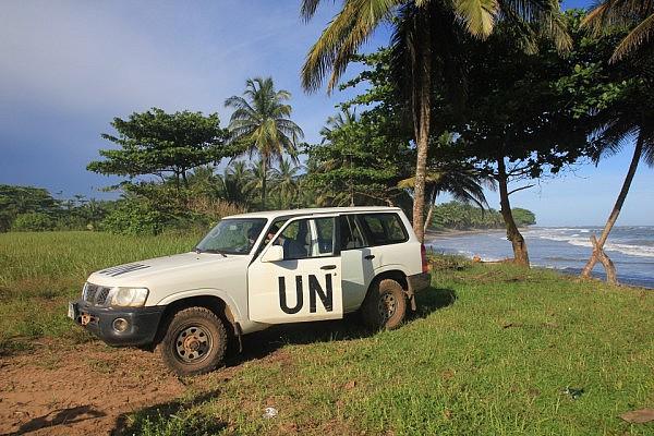 Beach trip with UN