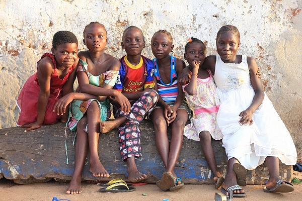 Liberian kids
