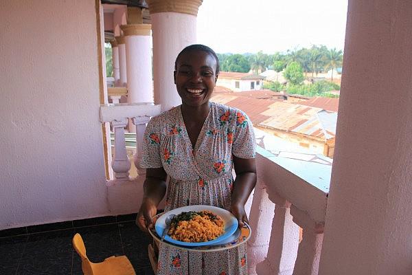Nnekka's delicious food